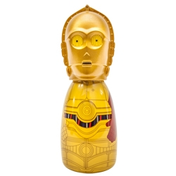 DISNEY Гель для душа-пена  ванны  детей герои Star Wars Дроид C3PO 100 мл
