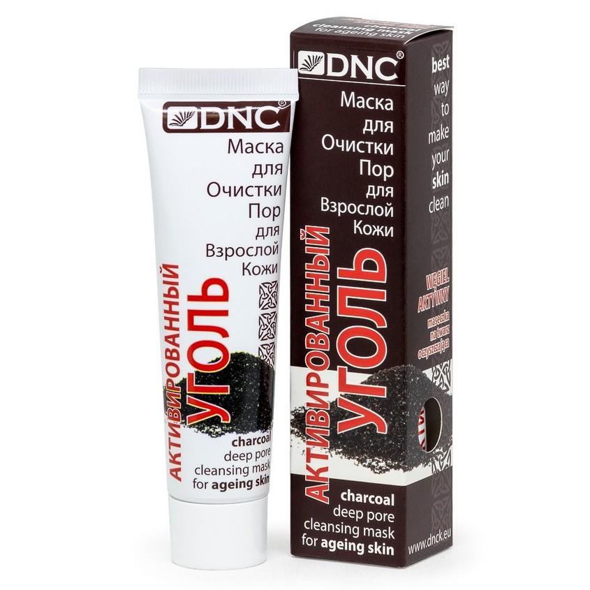 DNC Маска для очистки пор для взрослой кожи Активированный уголь