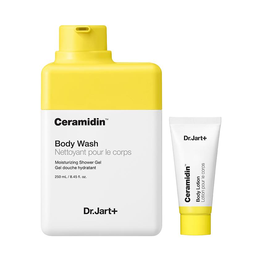DR. JART+ Гель для душа + лосьон для тела Ceramidin