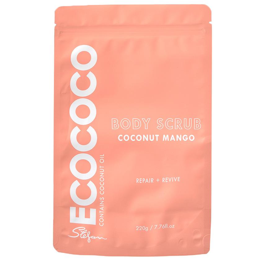 ECOCOCO Скраб для тела для восстановления Манго и Кокос