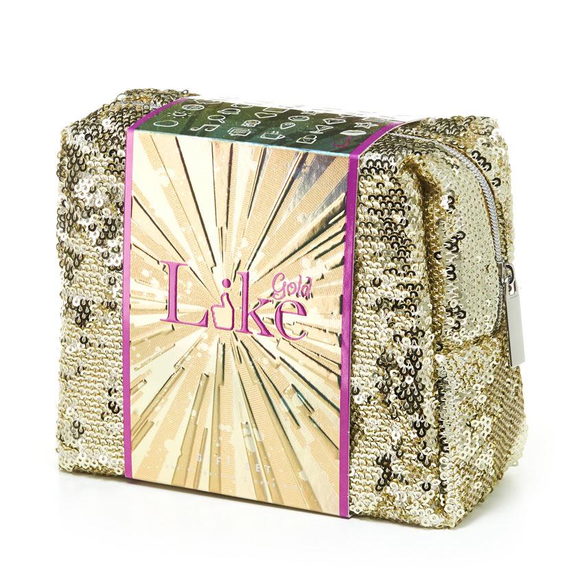 LIKE Парфюмерно-косметический набор для женщин LIKE Gold
