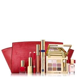 ESTEE LAUDER Подарочный набор для макияжа Ready in Red