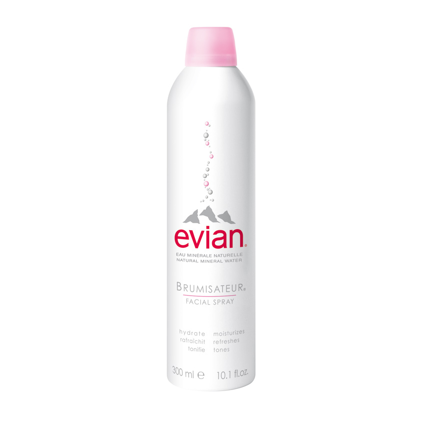 EVIAN Натуральная минеральная вода-спрей Evian