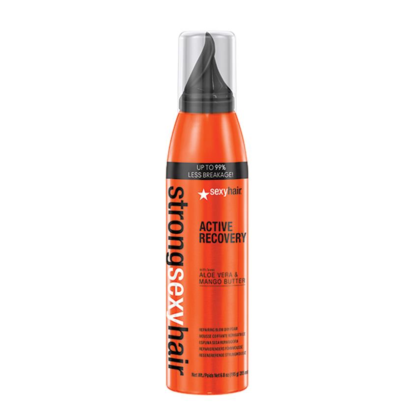 SEXY HAIR Мусс для укладки волос для прочности Active Recovery