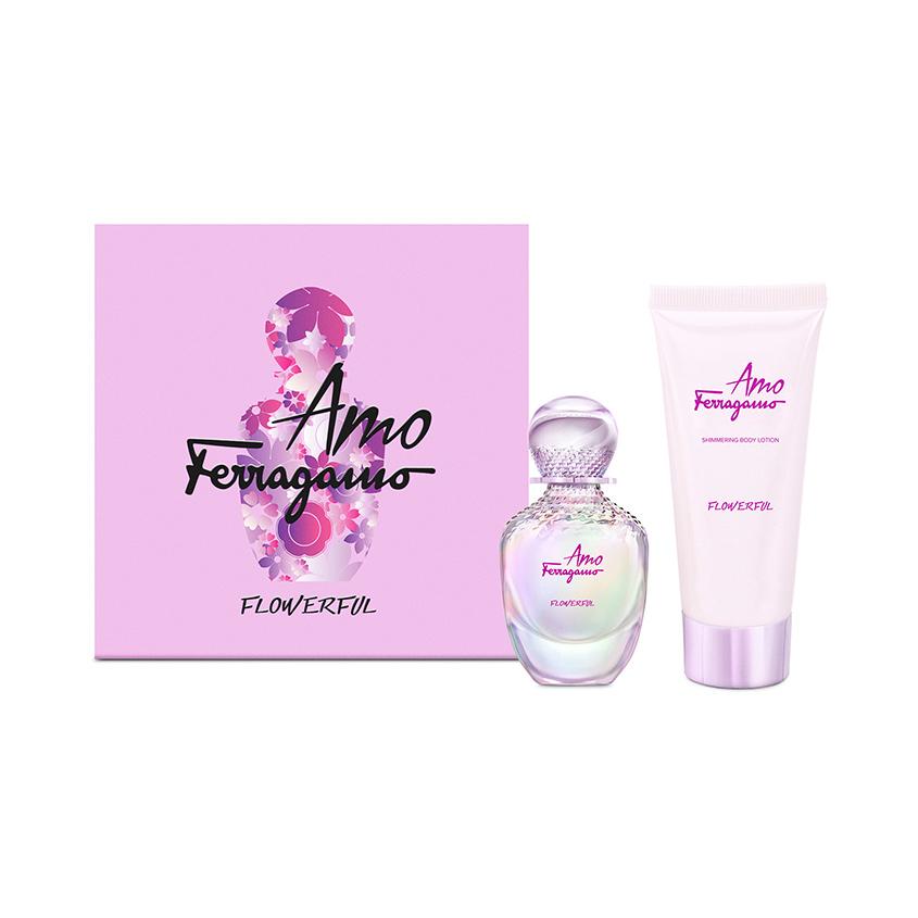 SALVATORE FERRAGAMO Подарочный набор AMO FLOWERFUL