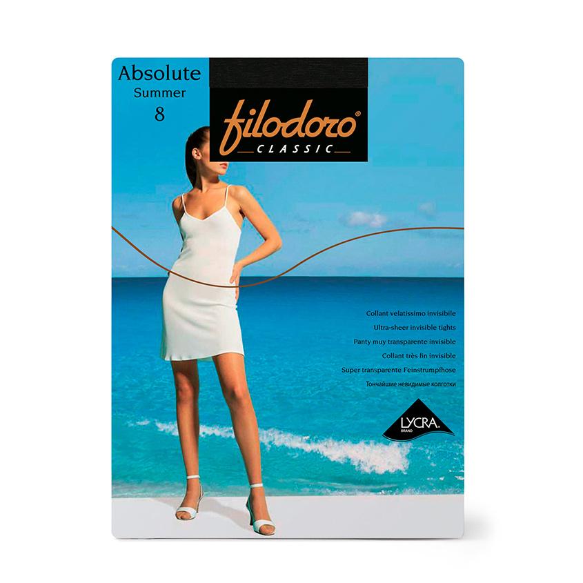 Купить FILODORO Колготки женские 8 ден Absolute Summer Nero