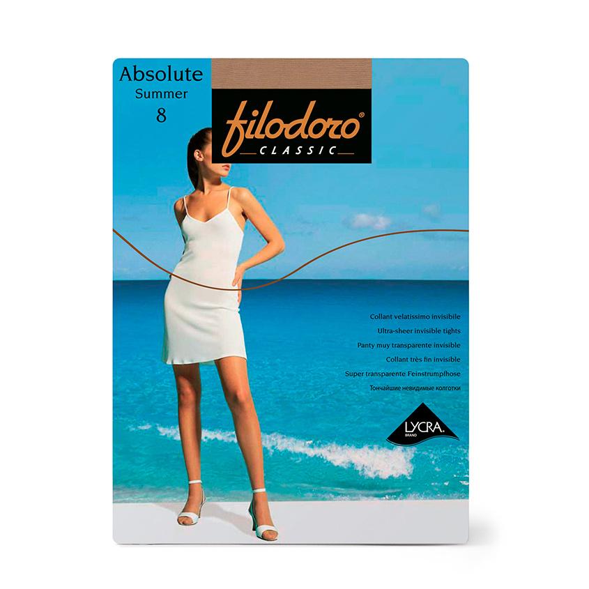 Купить FILODORO Колготки женские 8 ден Absolute Summer Playa