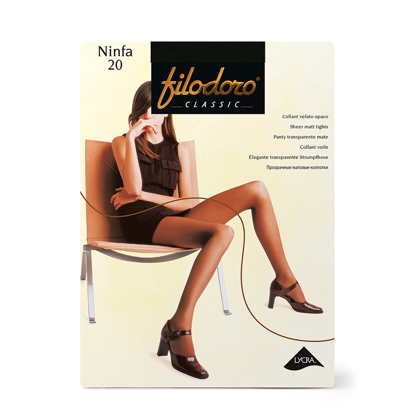 Купить FILODORO Колготки женские 20 ден Ninfa Nero