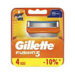 GILLETTE Сменные кассеты для бритвы Gillette Fusion 2 шт.