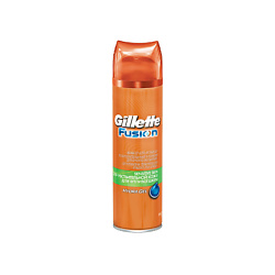 GILLETTE Гель для бритья Gillette Fusion Sensitive Skin (для чувствительной кожи) 200 мл gillette гель после бритья sensitive skin 50 мл