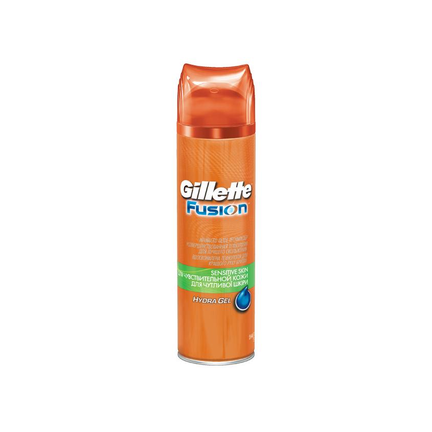Купить GILLETTE Гель для бритья Gillette Fusion Sensitive Skin (для чувствительной кожи)