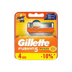 Купить GILLETTE Сменные кассеты для бритвы Gillette Fusion Power 2 шт.