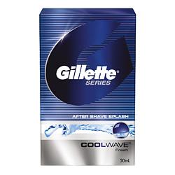 GILLETTE Лосьон после бритья Cool Wave 50 мл gillette гель после бритья sensitive skin 50 мл