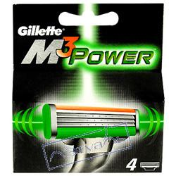 GILLETTE ������� ������� M3 Power 4 ��.
