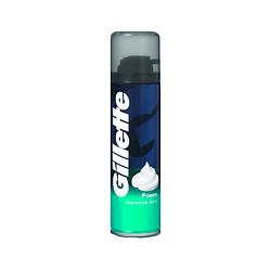 GILLETTE Пена для бритья Sensitive Skin для чувствительной кожи 200 мл пена для бритья gillette series защита 250 мл