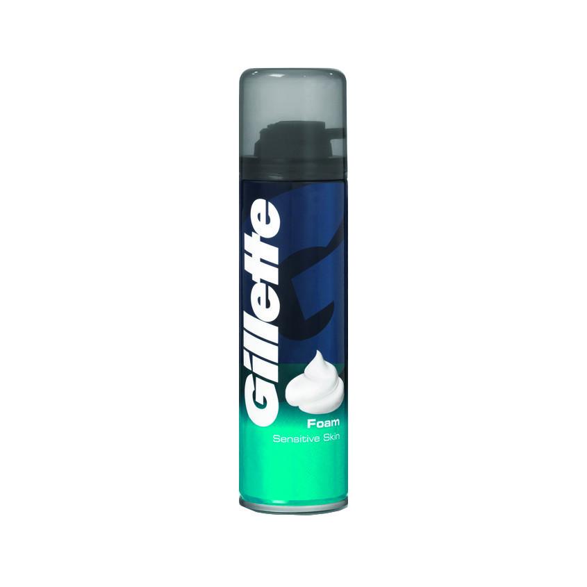Купить GILLETTE Пена для бритья Sensitive Skin для чувствительной кожи
