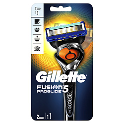 GILLETTE Бритва Fusion ProGlide Flexball с 2 сменными кассетами Станок + 2 кассеты gillette fusion