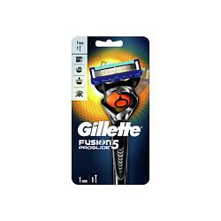GILLETTE Бритва Fusion ProGlide Flexball с 1 сменной кассетой Станок + 1 кассета