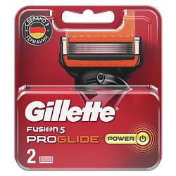 GILLETTE Сменные кассеты Fusion ProGlide Power 2 шт. недорого