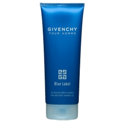 GIVENCHY Гель для душа Pour Homme Blue Label 200 мл pour homme blue label дезодорант стик 75 мл