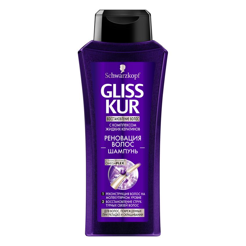 Купить GLISS KUR Шампунь Реновация волос