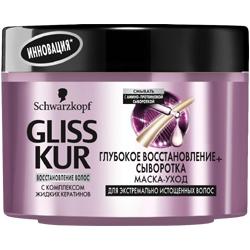 GLISS KUR Маска-уход Глубокое восстановление + Сыворотка 200 мл