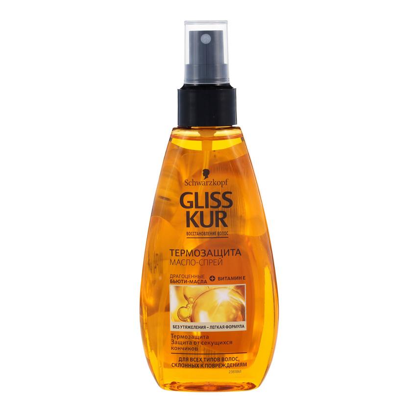 GLISS KUR Спрей-масло для волос OIL NUTRITIVE термозащита