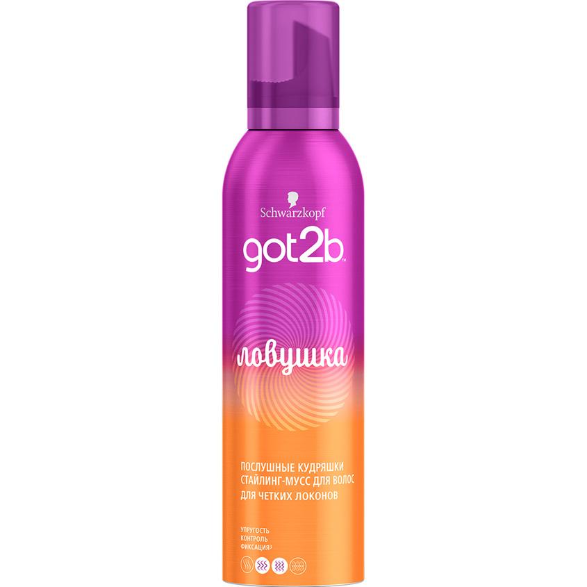 GOT2B Стайлинг-мусс для волос для четких локонов Ловушка