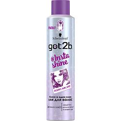 GOT2B Лак для волос INSTA-SHINE 300 мл лак д волос got2b мегамания 300 мл