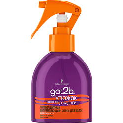 GOT2B Выпрямляющий спрей для волос Утюжок 200 мл