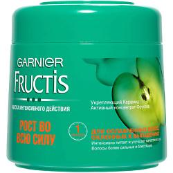 GARNIER Маска для волос Fructis Рост Во Всю Силу для ослабленных волос, склонных к выпадению 300 мл