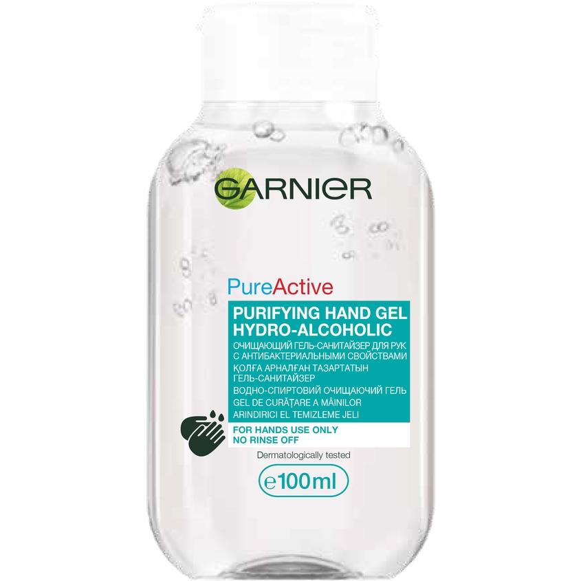 GARNIER Очищающий гель-санитайзер для рук с антибактериальными свойствами