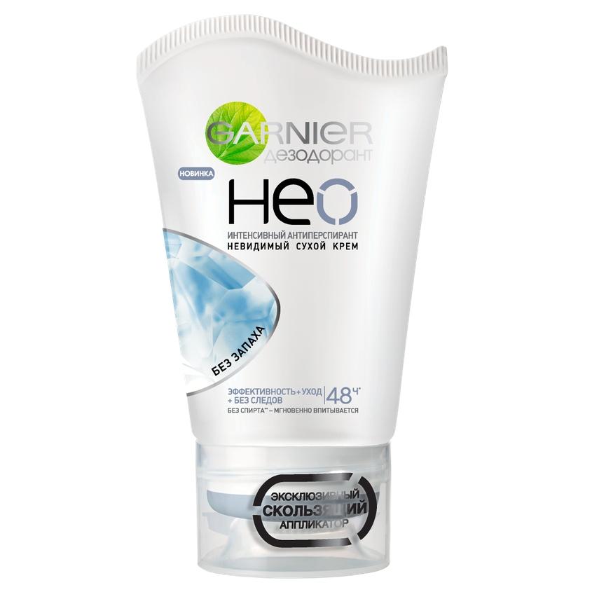 Купить GARNIER Дезодорант-антиперспирант Нео, Без запаха , сухой крем, защита 48 часов, невидимый, женский