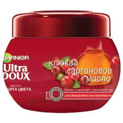 GARNIER Маска Ultra Doux для окрашенных и мелированных волос - Клюква и Аргановое масло