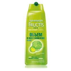 GARNIER Шампунь Fructis для тонких и ослабленных волос Объем и Восстановление 250 мл