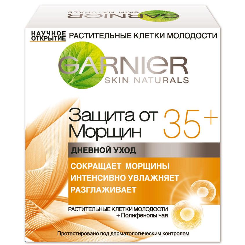 Купить GARNIER Крем для лица Антивозрастной уход, Защита от морщин 35+ против морщин, увлажняющий, дневной