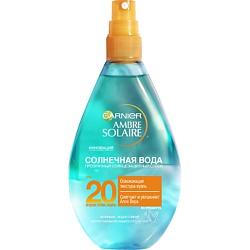 GARNIER Солнцезащитный спрей для тела Солнечная вода с Алоэ Вера, SPF 20 150 мл спрей для тела garnier garnier ga002lwfqy96