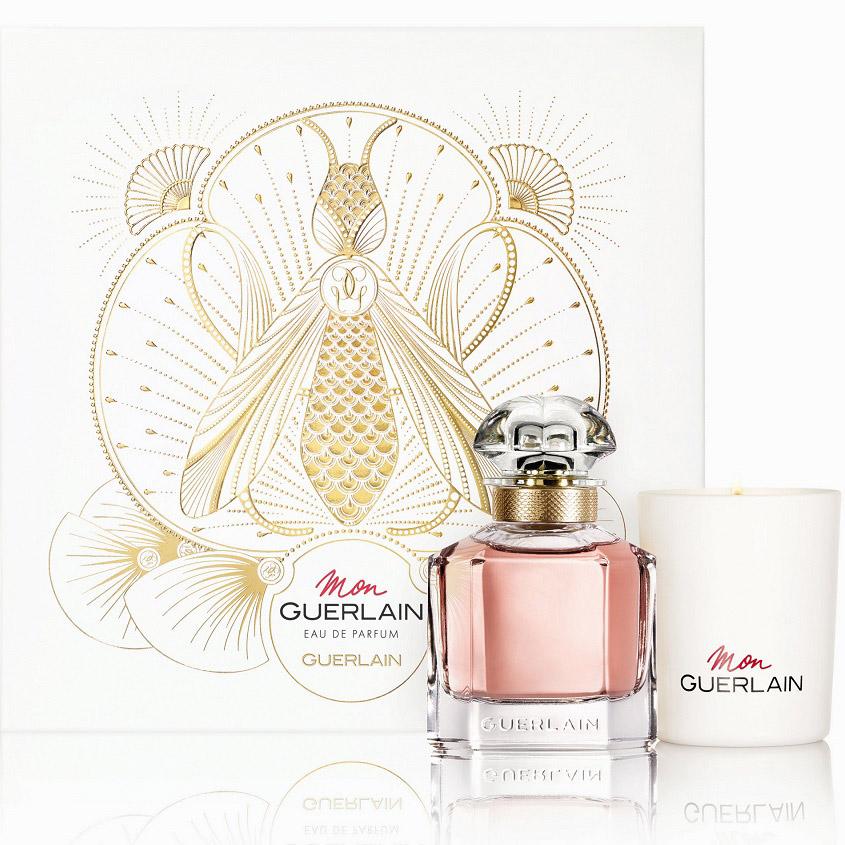 женская парфюмерия Guerlain набор Mon Guerlain Eau De Parfum
