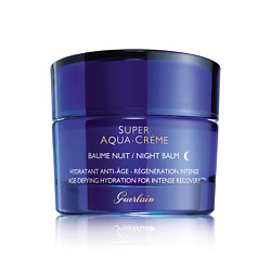 GUERLAIN Вечерний бальзам для лица, шеи и декольте Super Aqua-Creme 50 мл guerlain aqua allegoria grosellina