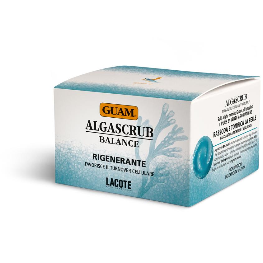 GUAM Скраб с эфирными маслами «Баланс и Восстановление» ALGASCRUB