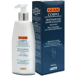 GUAM GUAM Крем антицеллюлитный для чувствительной кожи с хрупкими капиллярами 200 мл недорого