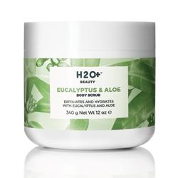 H2O+ Скраб для тела Eucalyptus & Aloe Body Scrub 340 г