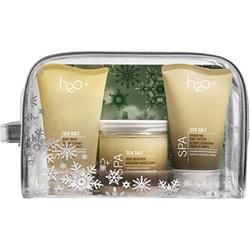 H2O+ Подарочный набор Sea Salt Spa Trio 2х120 мл + 340 г