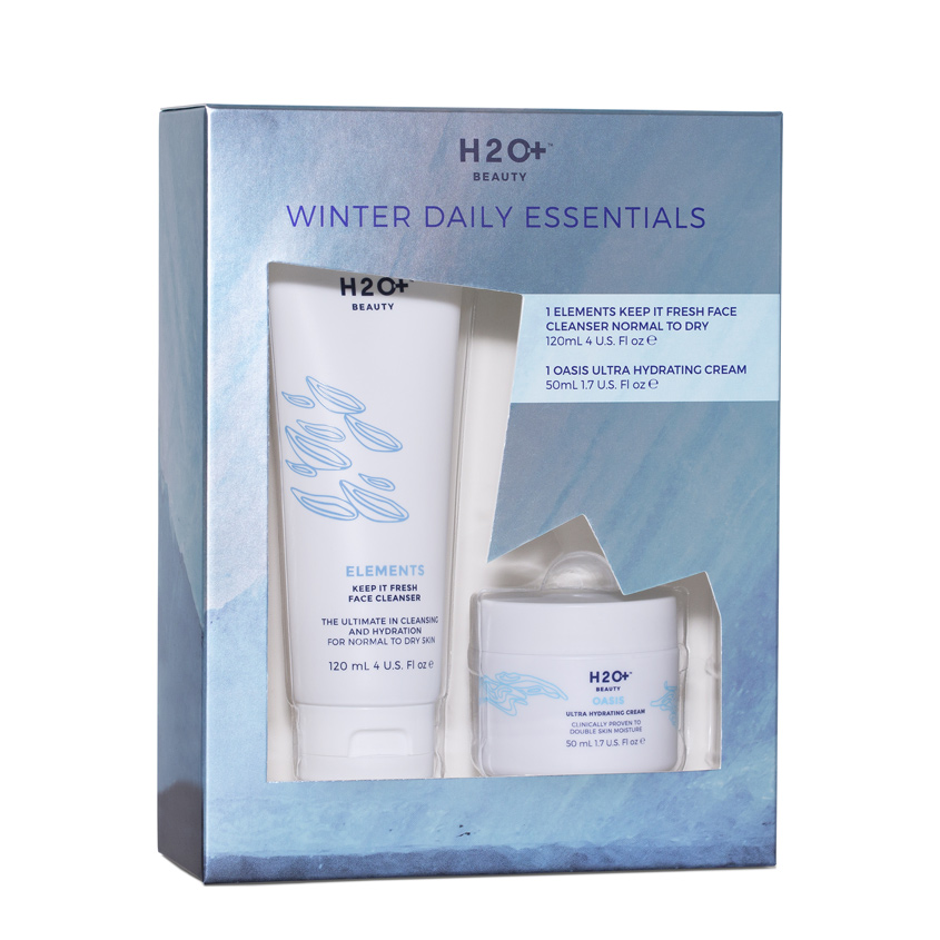 H2O+ Набор для лица OASIS & ELEMENTS WINTER DAILY ESSENTIALS