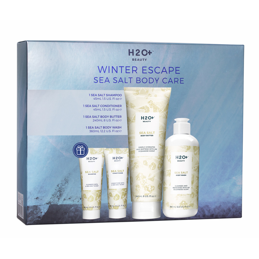 Купить H2O+ Набор для тела WINTER ESCAPE SEA SALT BODY CARE