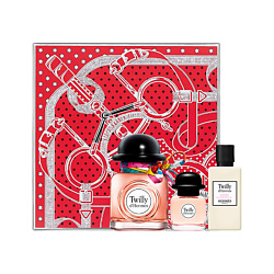 HERMÈS Set Twilly d'Hermès Eau de parfum Парфюмерная вода 50 мл + Парфюмерная вода 7,5 мл + Лосьон для тела 40 мл