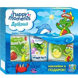 HAPPY MOMENTS Набор Дракоша 2х240 мл + 60 мл + наклейки