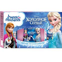 Купить со скидкой HAPPY MOMENTS Набор Холодное сердце 240 мл + 160 мл + 25 мл