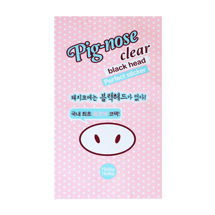 HOLIKA HOLIKA Очищающая полоска для носа Pig-nose Clear Black Head Perfect Sticker