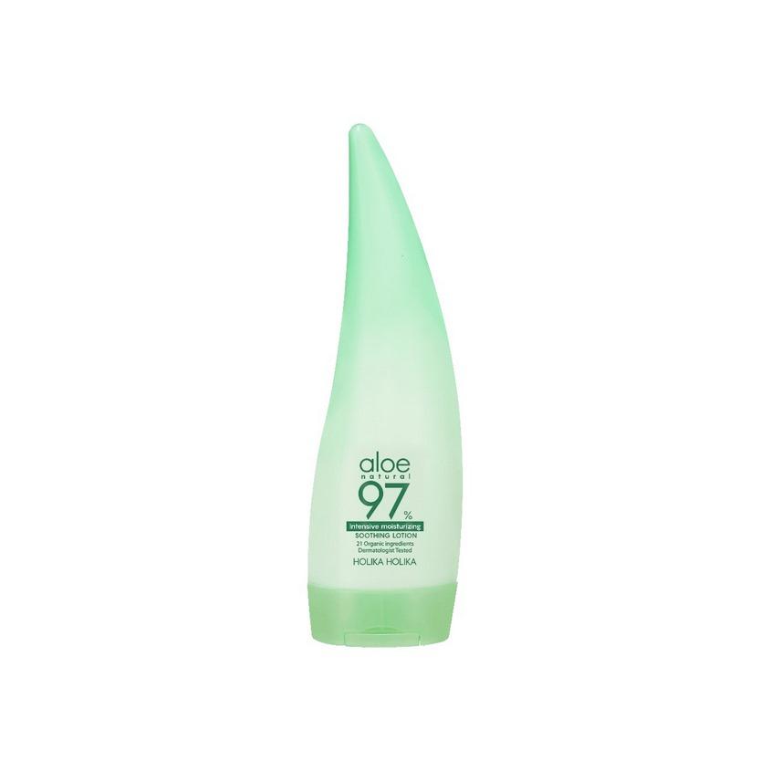 HOLIKA HOLIKA Интенсивно увлажняющий лосьон для лица и тела  Aloe 97% Soothing Lotion (Intensive)